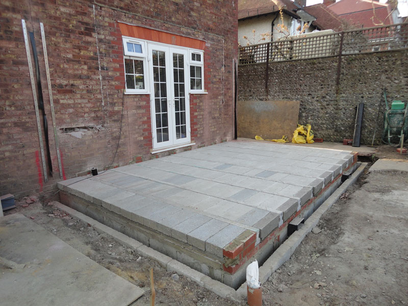 Extension To Local Vicarage By Future Construction Ltd