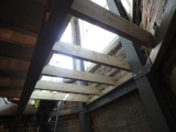 <h5>Timber Beams & Steel work </h5>