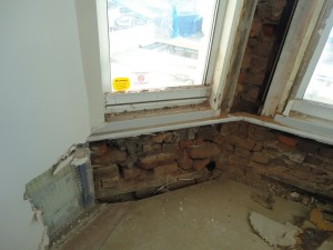 Brickwork in need of repair